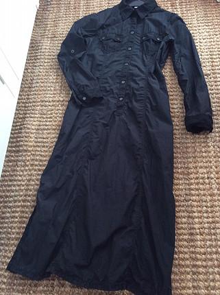Siyah spor elbise