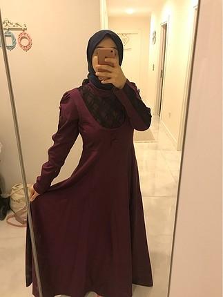 Uzun şık elbise