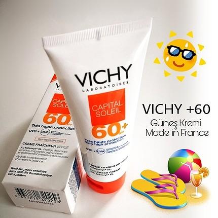 Vichy Made in France Güneş Kremi