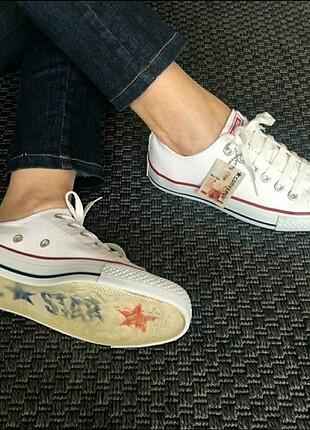 Converse All Star özel seri şeffaf taban