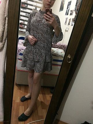 Mango kısa elbise