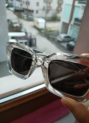 Beden beyaz Renk Şeffaf gözlük