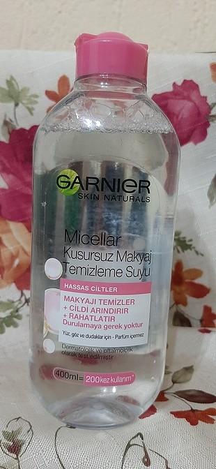 garnıer.makyaj temizleme.suyu