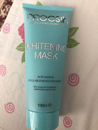 Procsin soyulanilir beyazlatıcı maske