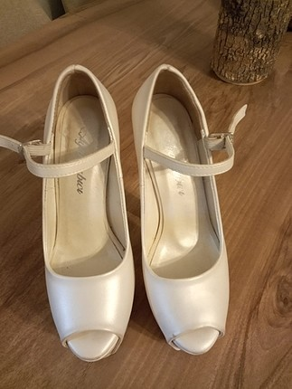 platform gelin ayakkabı