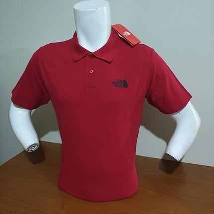 L Beden Orjinal The North Face Polo yaka tişört