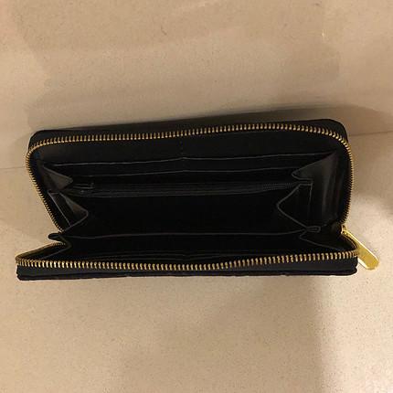 m Beden siyah Renk Ck model replika cüzdan