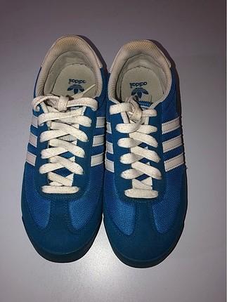 Adidas mavi spor ayakkabı