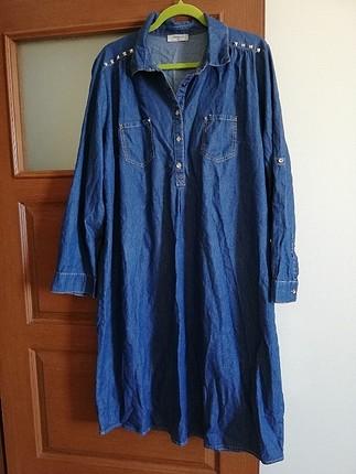 ince kot kumaş elbise
