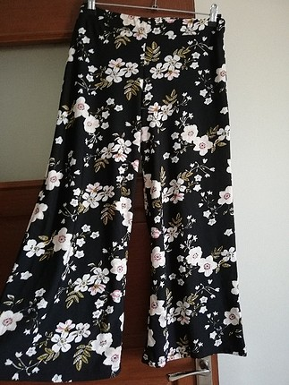 bol paça yazlık kumaş pantolon