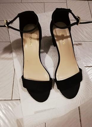 38 no topuklu ayakkabi