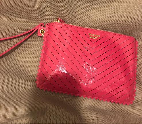 Victoria secret clutch çanta