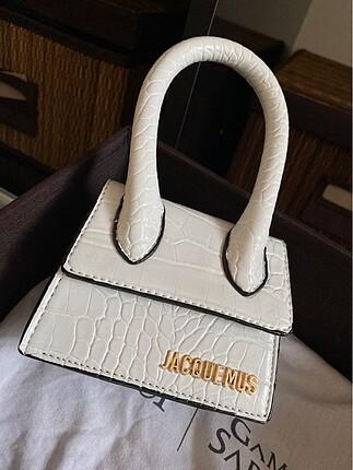 Jacquemus beyaz çanta