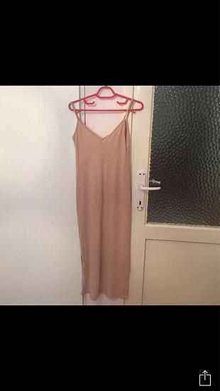 s Beden Yırtmaçlı elbise