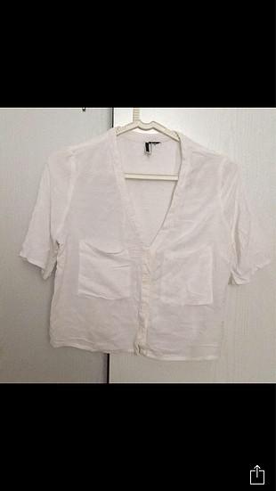 Diğer Beyaz bluz