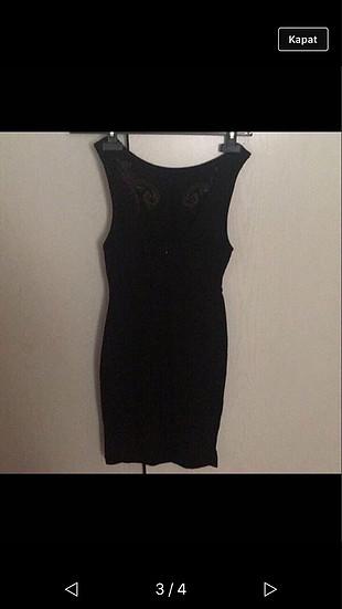 s Beden siyah Renk Siyah elbise