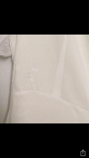 s Beden Beyaz elbise