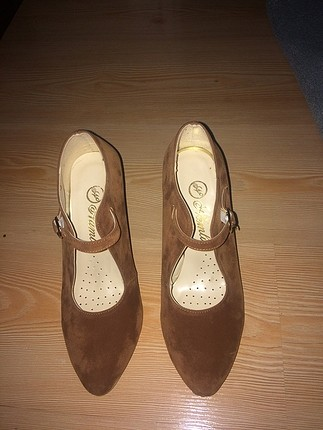Mango Süvet ayakkabı