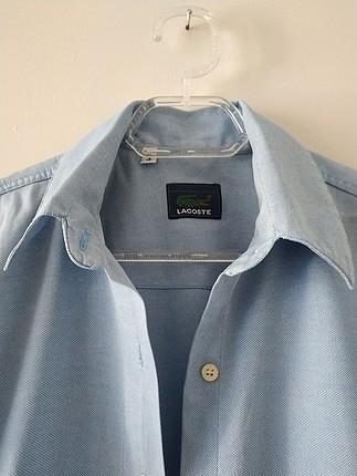 xs Beden mavi Renk Lacoste gömlek