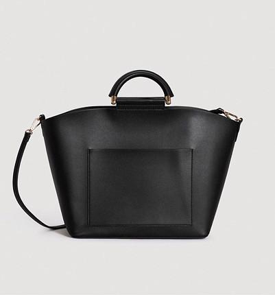 Siyah Mango çanta