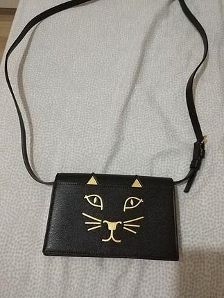 charlotte olympia clutch çanta