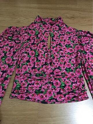 m Beden çeşitli Renk Yeni sezon çiçekli bluz