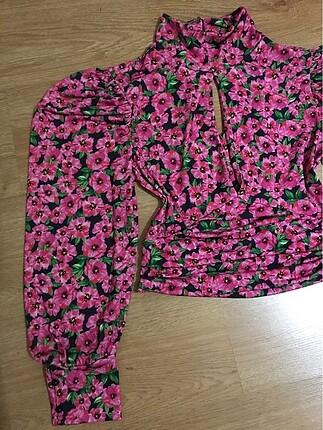 Zara Yeni sezon çiçekli bluz