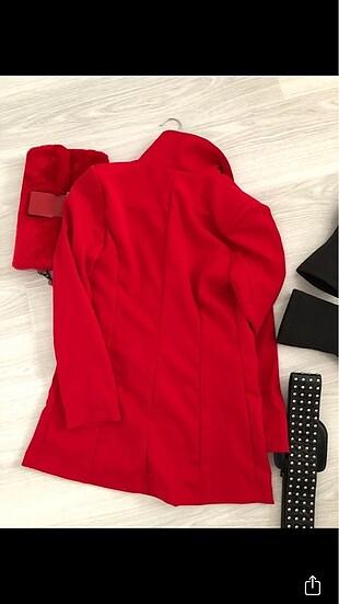 s Beden kırmızı Renk Yeni sezon ceket