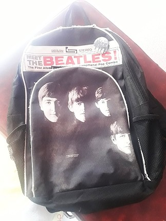 The Beatles sırt çantası
