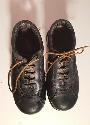Camper Deri Ayakkabı, Deri Bağcıklı