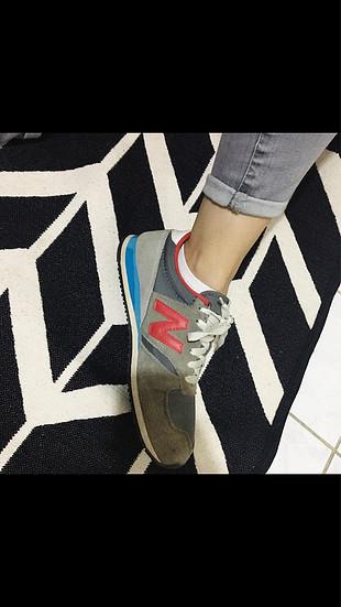 37 Beden Renkli New balance spor ayakkabı