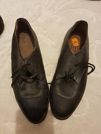 siyah klasik ayakkabi