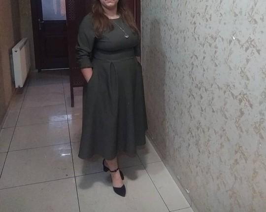 midi boy büyük beden elbise