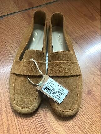 Etiketli fabrika loafer