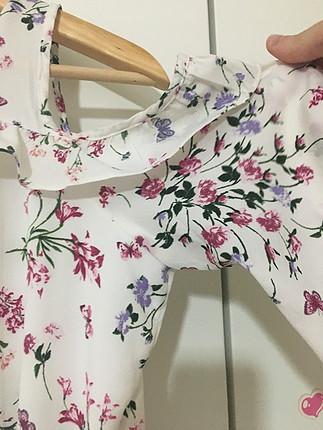 Defacto Çiçek desenli elbise
