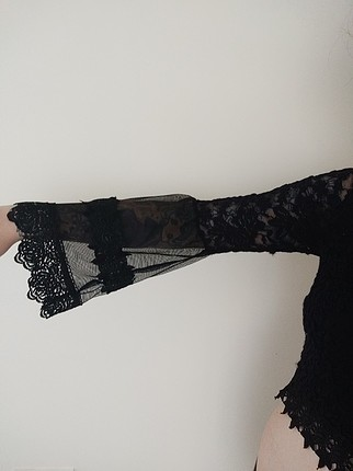 s Beden siyah uzun kollu