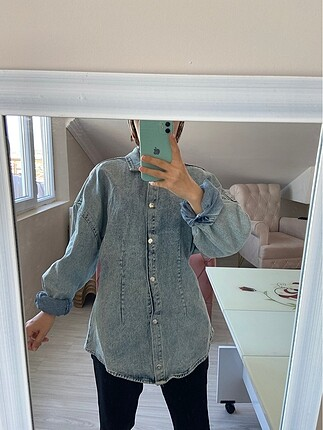 Diğer Kot gömlek