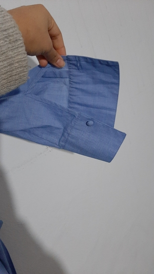 mavi gömlek bluz