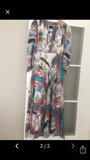 Dökümlü elbise