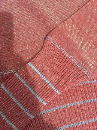 36 Beden pembe Renk Vakko mercan rengi sorunsuz triko