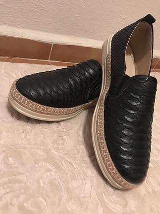 Koton Deri Ayakkabı