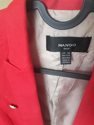 xs Beden mango suit blazer ceket