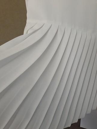36 Beden beyaz Renk nihan marka şık bluz