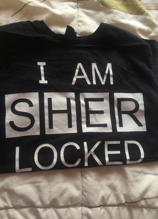 Sherlock tişörtü