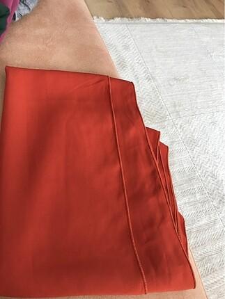 Beden turuncu Renk Fresh scarf Medine ipeği şal