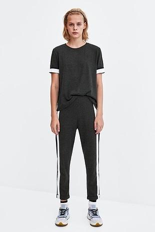 s Beden siyah Renk Zara Tshirt Tişört