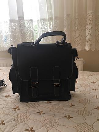 universal Beden siyah yan çanta