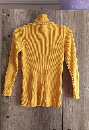 Diğer sarı triko kazak