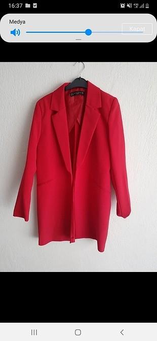 kırmızı blazer