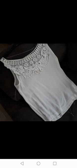 s Beden beyaz Renk şike bezi bluz